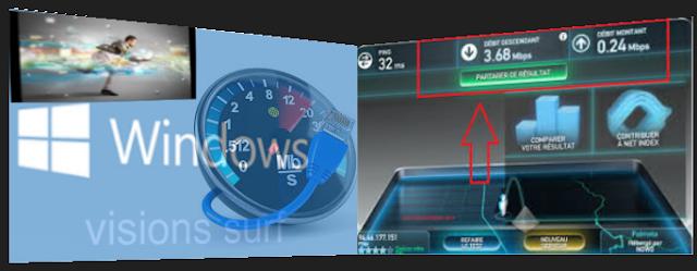 booster et augmenter la bande passante et la vitesse de la connexion