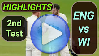 ENG vs WI 2nd Test 2020