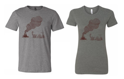 San Diego Comic-Con 2018 Exclusive Volcano Cloud T-Shirt by Scott C.