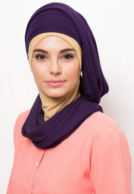 Desain hijab turban modern simpel image