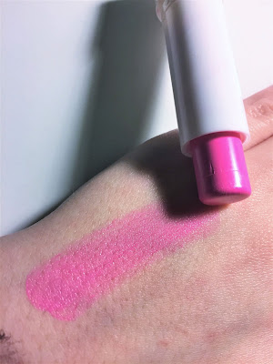 e.l.f. Lip Kiss Balm Flirty & Perky Pink swatch