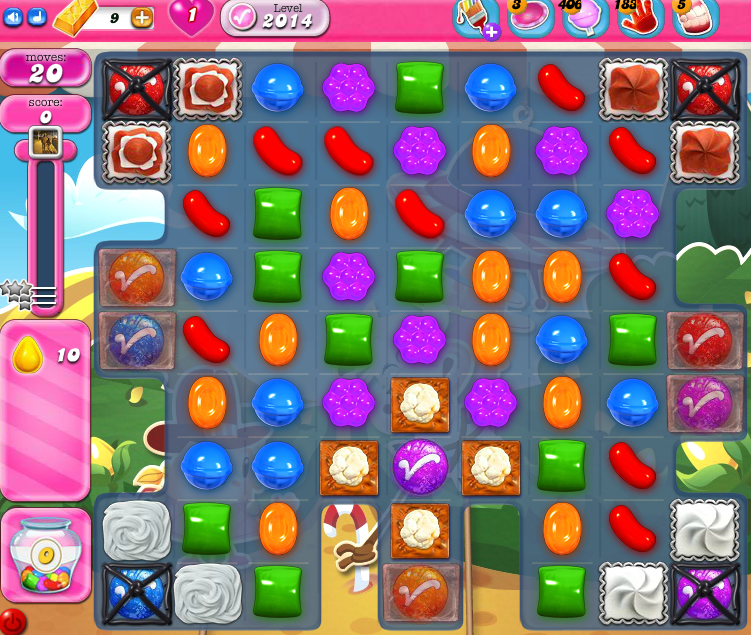 Candy Crush Saga 2014