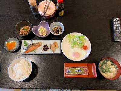亀井荘 朝食