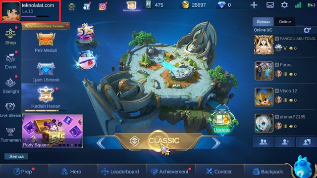 Profil Mobile Legends