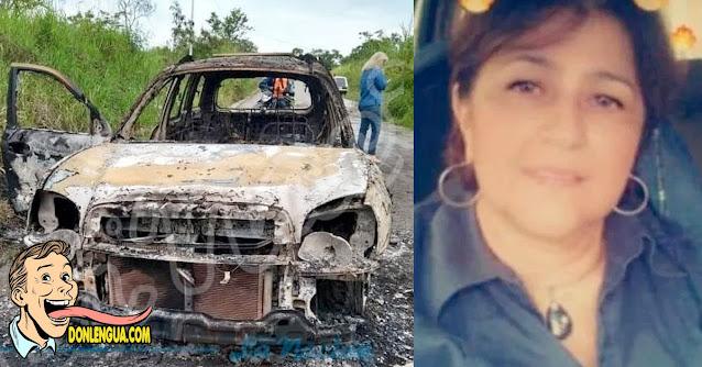 Abogada desaparecida en Táchira fue encontrada quemada en un basurero