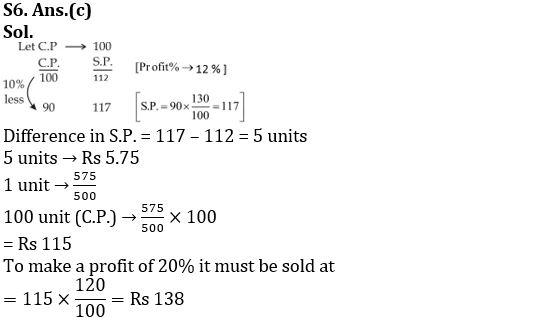 Profit And Loss Questions for SSC CGL TIER-2 & IB (ACIO) 2017_100.1