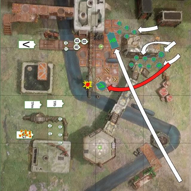 Warhammer 40k - 9th Edition - Alpha Legion vs Tempestus Scions - 1500pts