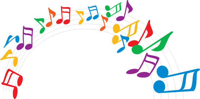 note, color music notes, color png by: pngkh.com