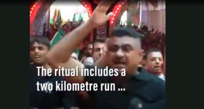 Video 30 Penganut Syiah Tewas Saat Peringati Hari Asyura di Karbala