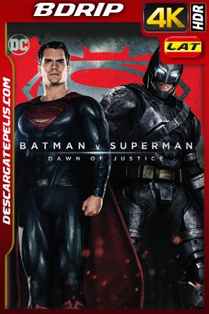 Batman vs Superman: El origen de la justicia (2016) 4k BDrip HDR Latino – Ingles
