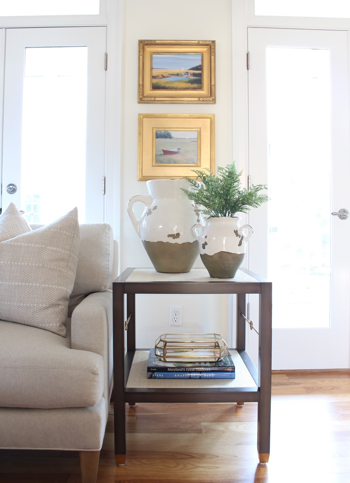 view from my heels: Client Project: Thomas Lane Living Room