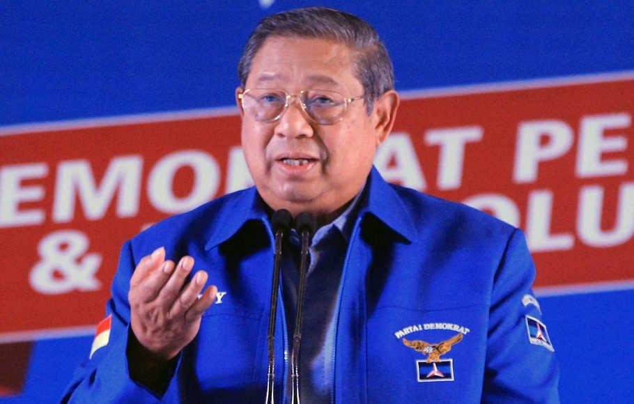 SBY Sayangkan Cara Berpolitik Tidak Patut Dilakukan Seorang Oknum Pejabat Negara