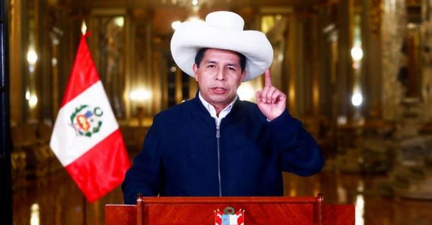 INGRESO LIBRE A UNIVERSIDADES: Actas oficiales revelan que Presidente Castillo no cumpliría promesa ofrecida en Mensaje a la Nación
