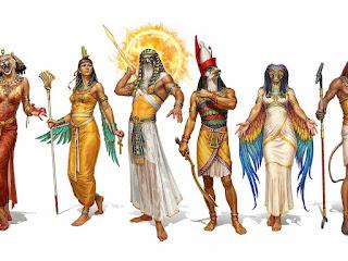 riassunto sulla religione degli egizi