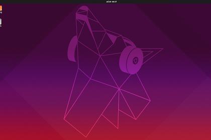 Pengalaman Menggunakan Ubuntu Disco Dingo 19.04