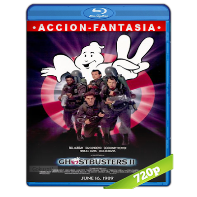 Los Cazafantasmas 2 (1989) BRRip 720p Audio Trial Latino-Castellano-Ingles 5.1
