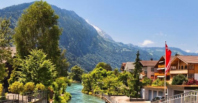 Interlaken na Suíça