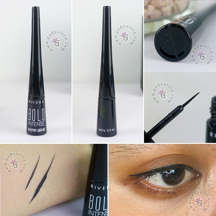 Review Rivera Bold Intense Liquid Liner Slim Brush