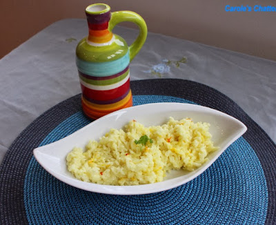 Saffron Coconut Rice by Carole's Chatter