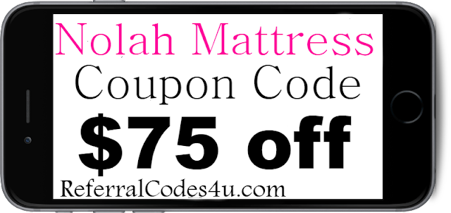 $75 off Nolah Mattress Discount Code Coupon 2021 Jan, Feb, March, April, May, June, July