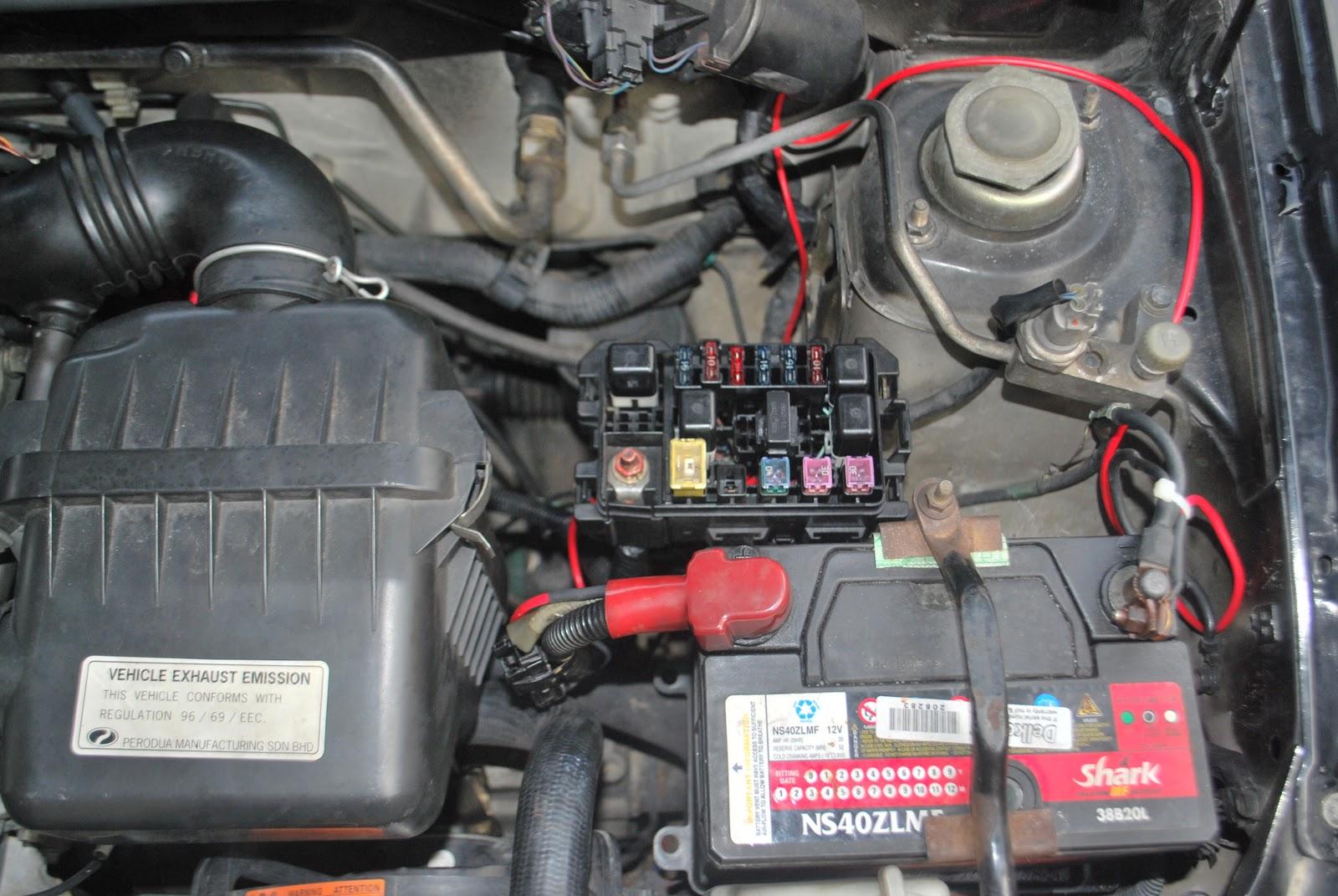 hight resolution of  daihatsu perodua kelisa cuore relay fuse box 2 fuse box kancil 850 wiring diagram simonand perodua