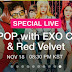 [INFO] 161114 EXO-CBX to have a Special V Live on November 18th