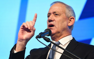 A maioria dos israelenses quer que Gantz forme  uma coalizão