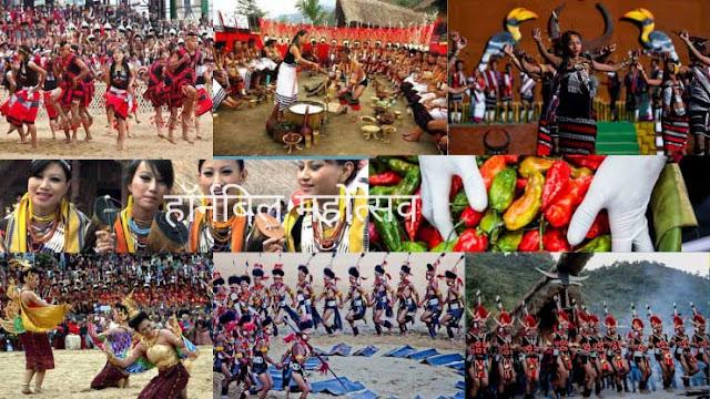 हॉर्नबिल महोत्सव- भारतातील ४० प्रसिद्ध सण आणि उत्सव | 40 Famous Festivals and Celebrations in India