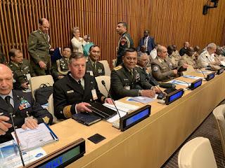 Kasum TNI Hadiri Konferensi Pangab di Markas Besar PBB