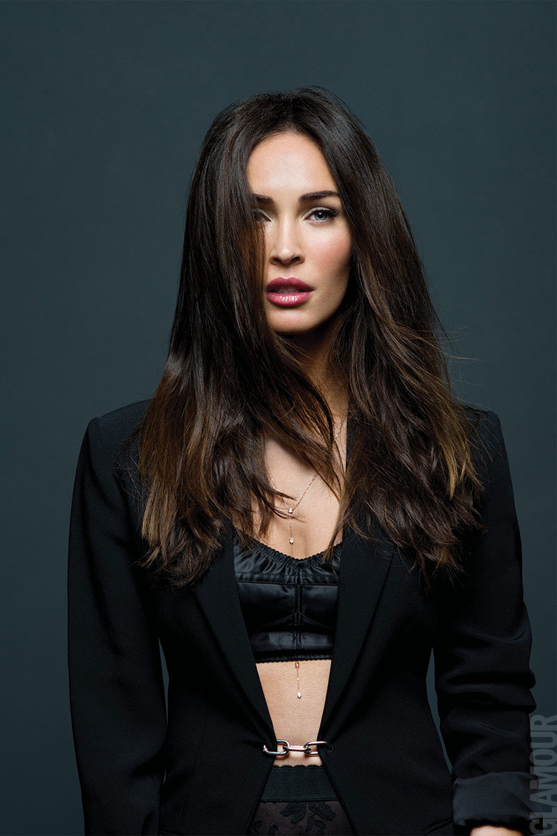 Beauty Mags Megan Fox Glamour Mexico June 2016