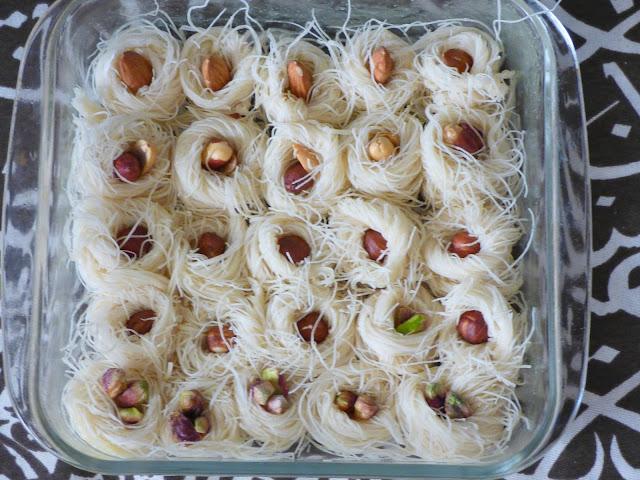 Ägypten Rezept Kunafa Esch Bulbul Nachtigall Nester Ramadan