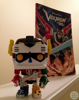 Voltron Funko Pop and Graphic Novel