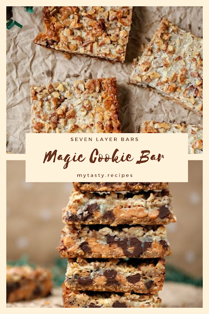 Seven Layer Bars - Magic Cookie Bar