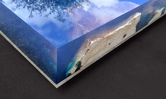gambar model meja inspiratif super keren dengan bahan epoxy dan batu marmer
