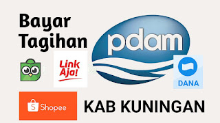 Daftar Aplikasi Yang Menyediakan Bayar Tagihan Air PDAM Untuk Pelanggan di Kab.Kuningan