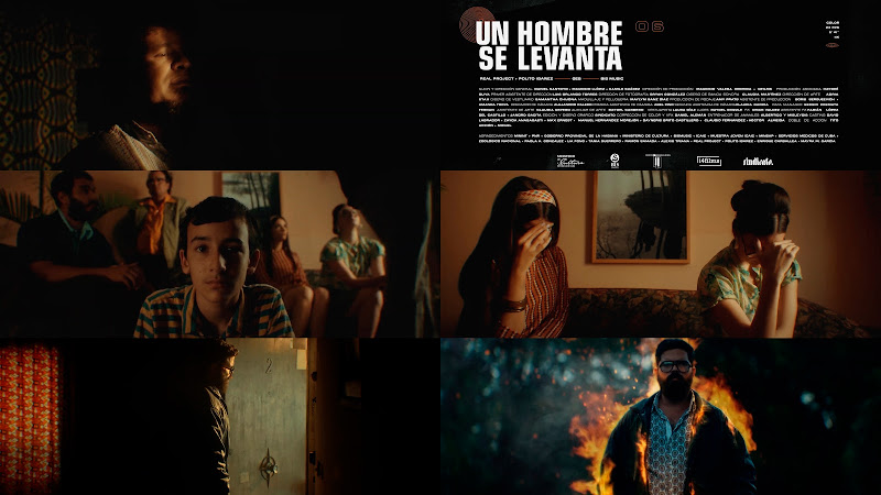 Real Project & Polito Ibáñez - ¨Un hombre se levanta¨ - Videoclip - Dir: Daniel Santoyo - Mauricio Llópiz - Camilo Suárez. Portal Del Vídeo Clip Cubano. Música cubana. Cuba.