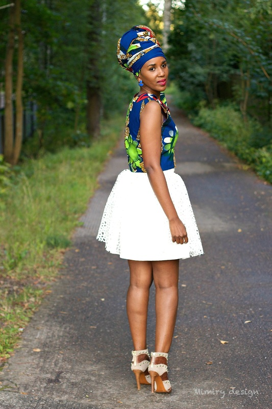 african lady with heels