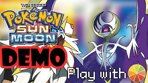 how to get pokemon sun and moon demo