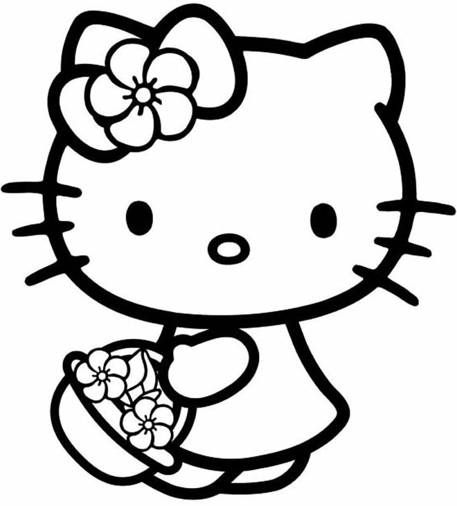 schöne dinge 10 hello kitty malvorlagen