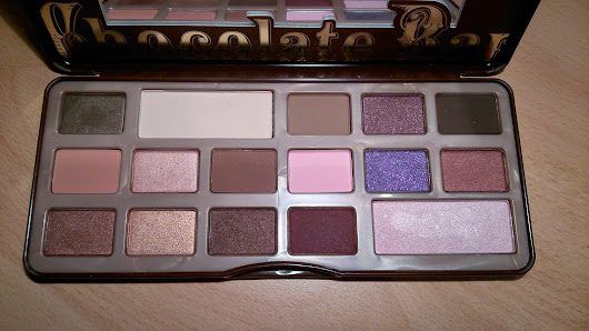 Chocolate Bar - Too faced - Review
