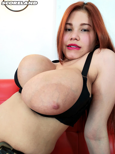 Scoreland  - Lucy Rodriguez topless huge tits  in We Love Lucy 1