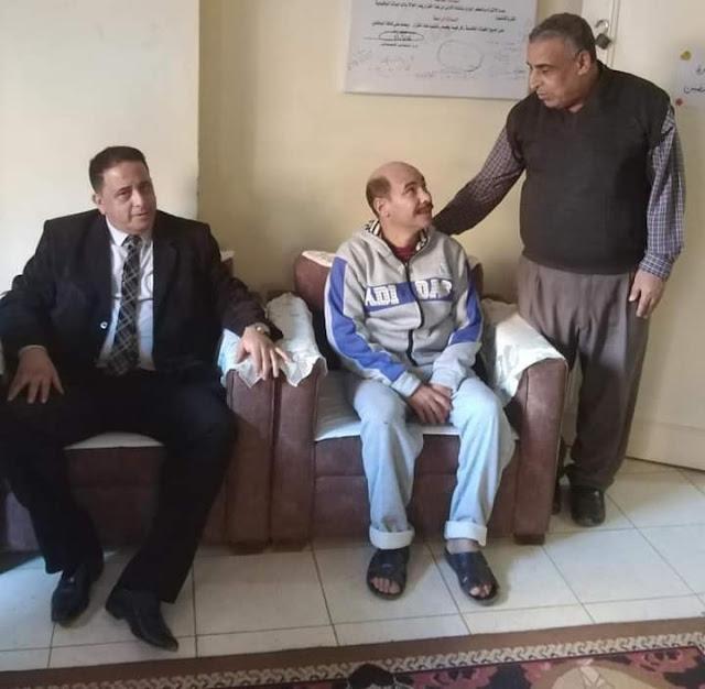 تضامن الغربية ..انقاذ رجل مسن بلا مآوى يعيش فى شوارع المحلة