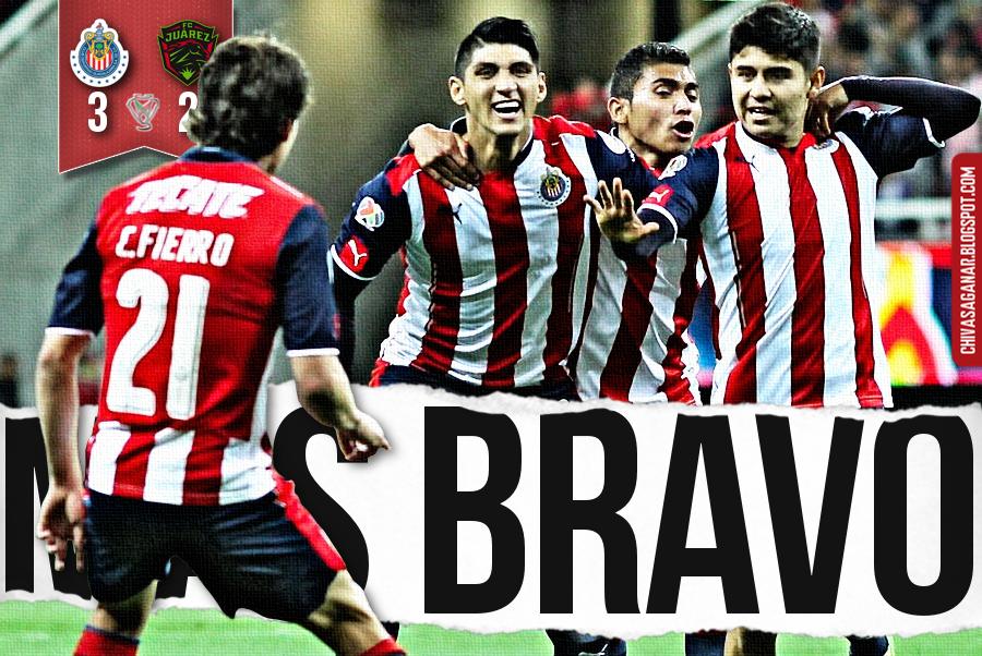 Copa MX : CD Guadalajara 3-2 FC Juárez - Clausura 2017 - Cuartos.