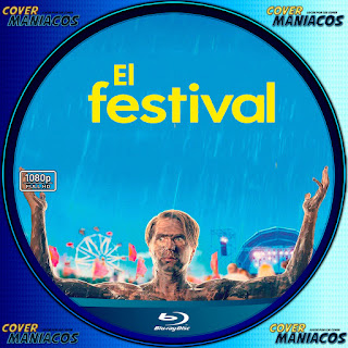 GALLETA EL FESTIVAL - THE FESTIVAL 2018[COVER BLU-RAY]