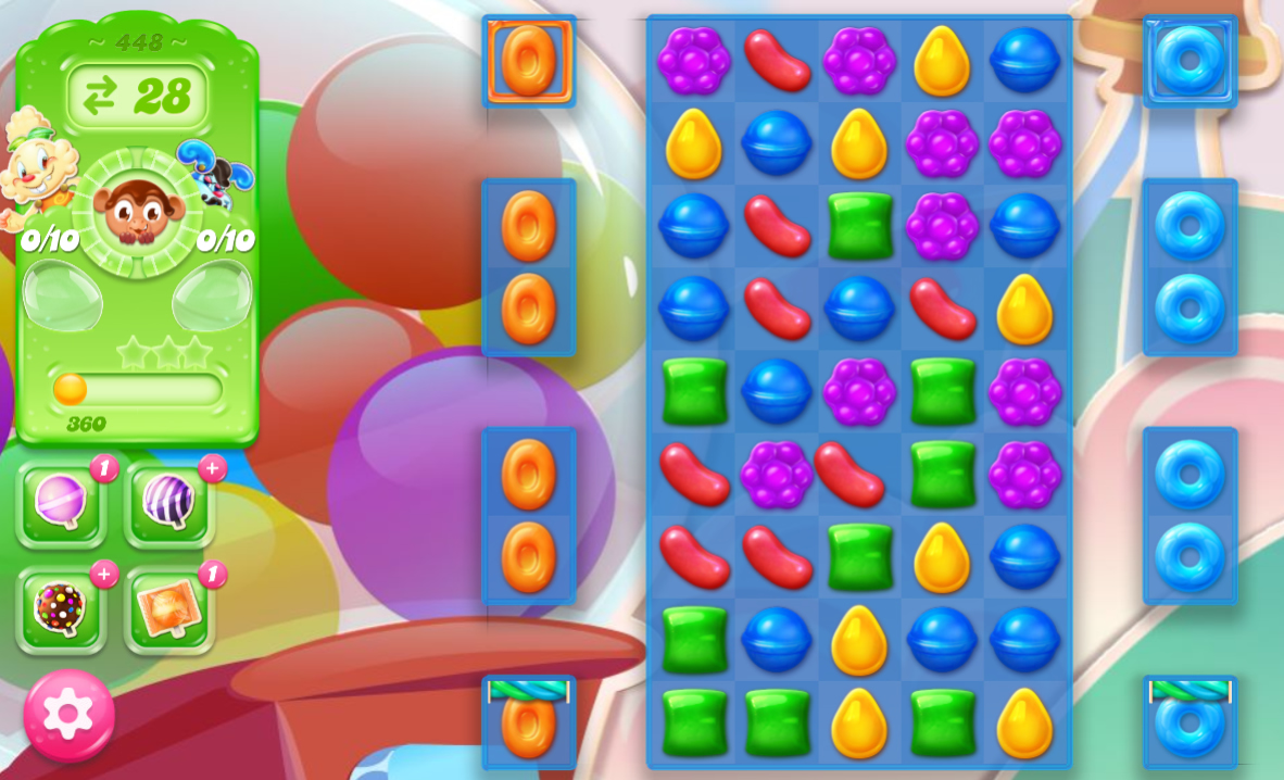 Candy Crush Jelly Saga 448