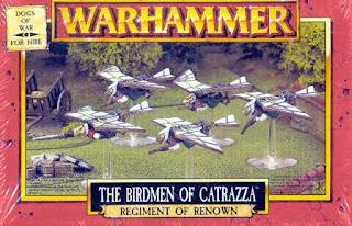 Warhammer Dogs of War the Birdmen of Catraza