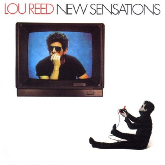 Album cover for LOU REED - New Sensations (1984, RCA Records)