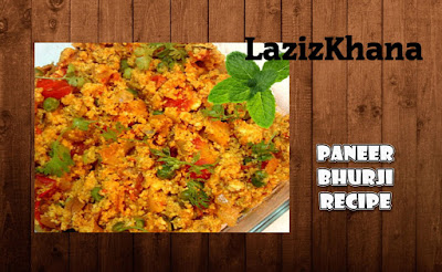 Paneer Bhurji Recipe in Roman English - Paneer Bhurji Banane ka Tarika