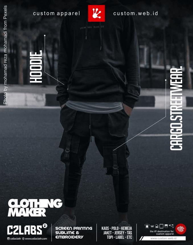 Clothing Maker Hoodie - Cargo Street Wear - Konveksi Indonesia