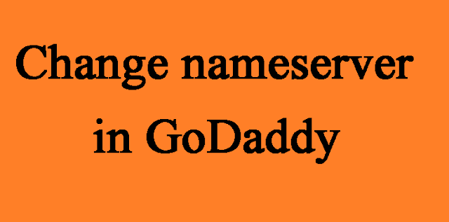 The article is written on How to change the nameserver of website in GoDaddy.